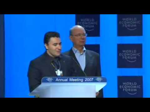 Davos Annual Meeting 2007 - Presentation of the Crystal Award (Maxim Vengerov)