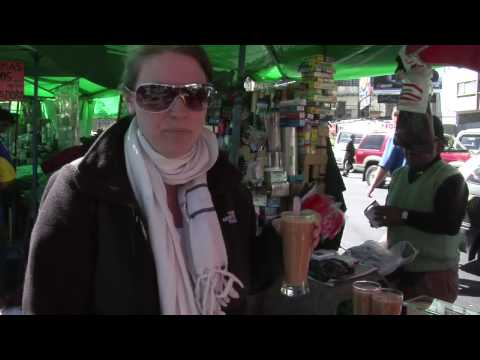 Street Food in La Paz, Bolivia