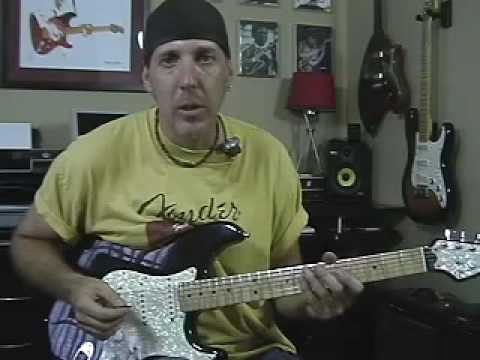 Part 2 Learn Guitar Lesson Inspired By Stevie Ray Vaughan