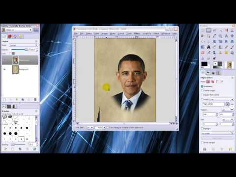 GIMP tutorial - Make a photo look 100 years old (Sepia effect)