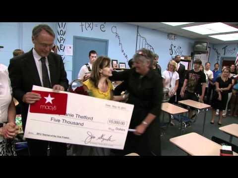 Teacher of the Year Okaloosa County finalist - Stephanie Thetford