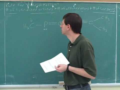 Orbital hybridization. Sigma and pi bonds (6)