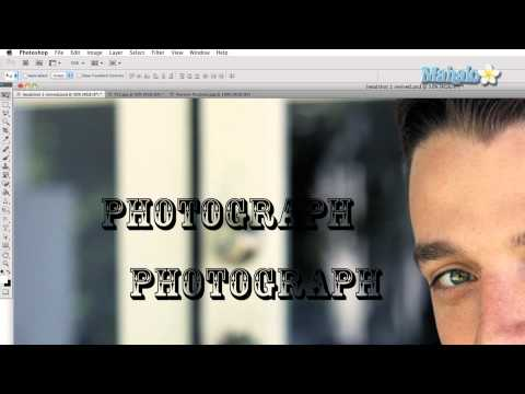 Learn Adobe Photoshop - Mask Type Tool