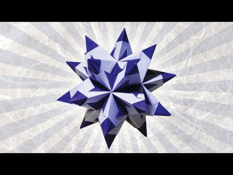 Origami Bascetta Star by Paolo Bascetta (Folding Instructions)