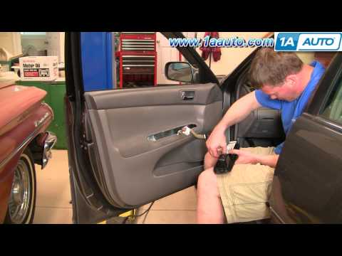 How To Install Replace Master Drivers Power Window Switch Toyota Camry 02-06 1AAuto.com