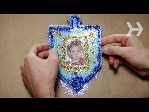 How to Make Hanukkah Cards and Decorations