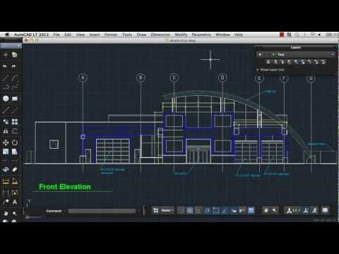 Create 2D Objects: AutoCAD LT 2013 for Mac