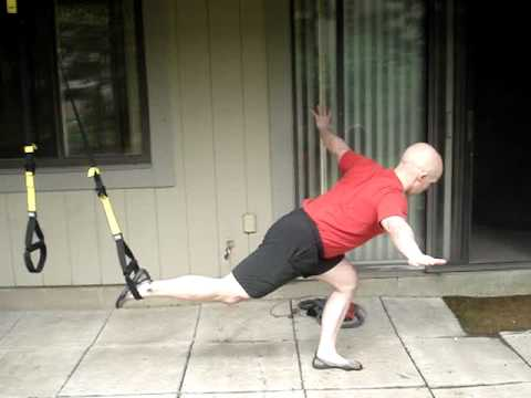 Cool Combo: TRX® Lunge to TRX Single Leg Squat