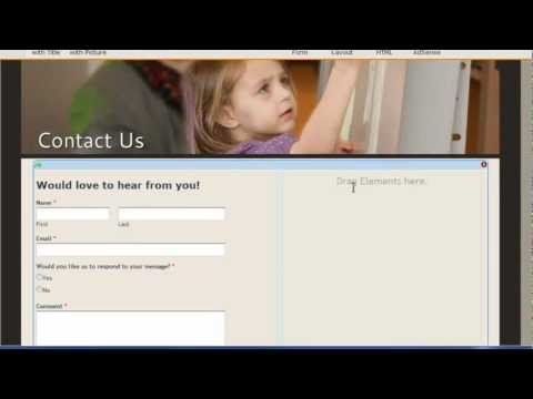 Weebly (Ep. 7) - Contact Us Page