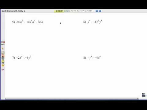 How to Apply Exponent Rules: Problem Set 2