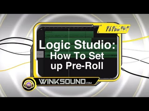 Logic Pro: How To Setup Pre-Roll | WinkSound