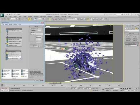 Creating Light Cycle Effects - Part 7 -- Particle Explosion