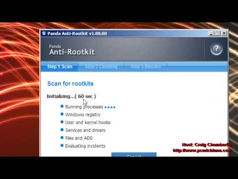 Virus Removal Ep. 11: Run the Panda Anti Rootkit Tool Properly