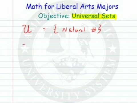 Universal Sets