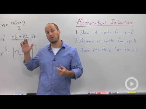 Algebra 2 - Mathematical Induction