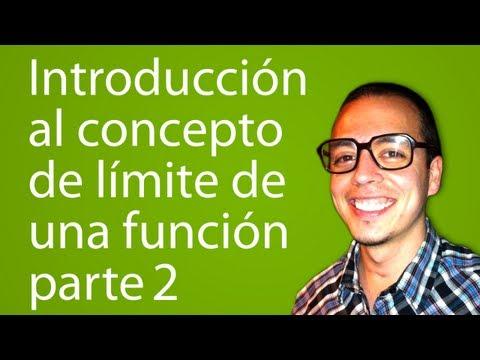 Introducción al concepto de límite de una función parte2