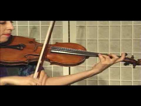 Violin Lesson - Song Demonstration - Canon in D (Ph. 7)