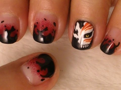 Bleach Nail Art