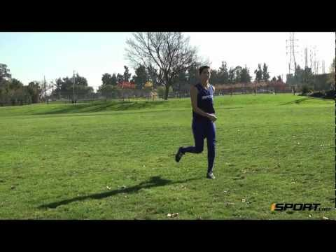 How to Crow Hop in the Outfield in Softball