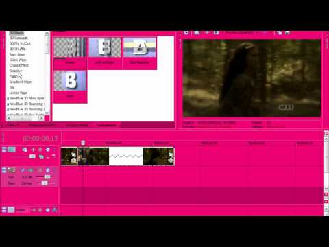 Sony Vegas Tutorial II Effect #55(Velocity)