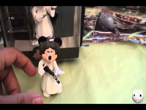 Disney Star Tours Minnie Mouse as Princess Leia Series 1 Figure Review!