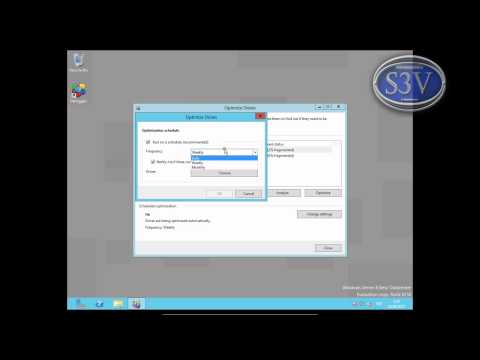 Windows Server 8 - El defragmentador de disco