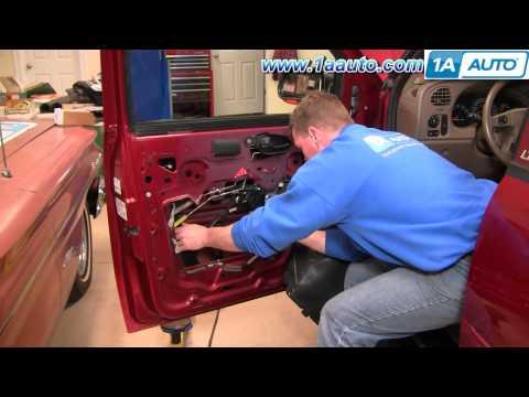 How To Install Replace Broken Power Window Regulator Chevy Trailblazer GMC Envoy 02-09 1AAuto.com