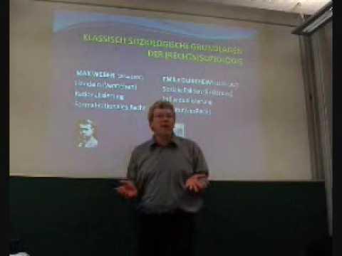 Talcott Parsons und die Rechtssoziologie (2/4), Mathieu Deflem (Heidelberg 2009)
