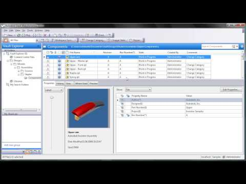 Mapping Revisions with Autodesk Vault Workgroup Part 7
