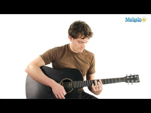 How to Play an A Sharp Seven (A#7) Chord on Guitar