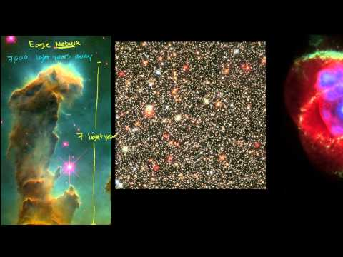 Star Field and Nebula Images