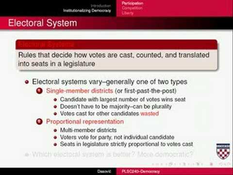 Democracy Part Two
