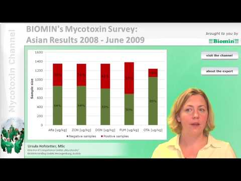 BIOMIN's Mycotoxin Survey: Asian Results 2008 - June 2009