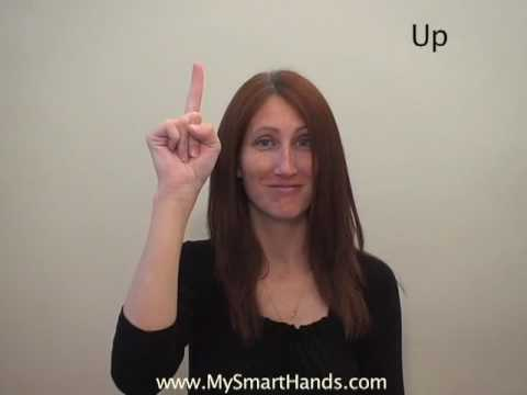 up - ASL sign for up