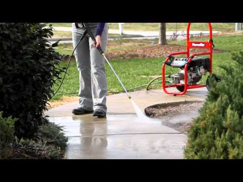 Homelite 2700 PSI Medium Duty Pressure Washer