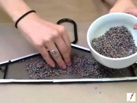 How to Make a Lavender Sachet Hanger