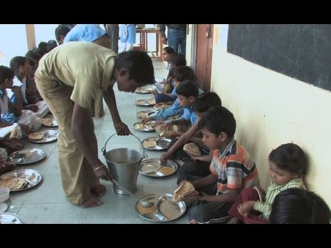 India's Massive School Lunch Program Aims to Curb Widespread Malnutrition