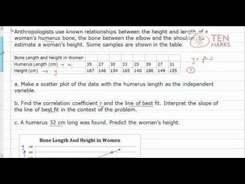 Correlation Coefficient and Predictions