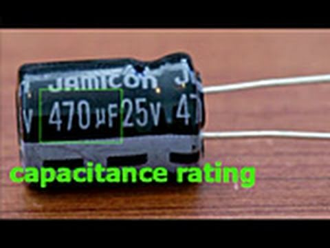 Capacitor Replacement Tutorial
