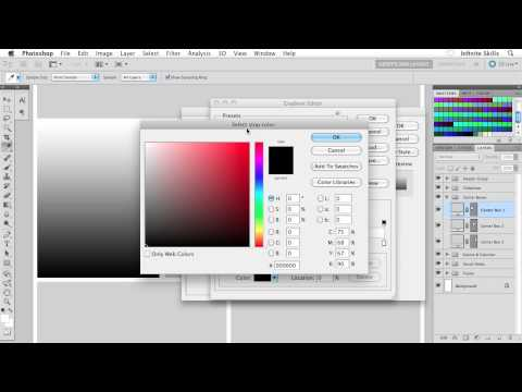 Beginners Web Design Tutorial | Applying a Gradient Effect | InfiniteSkills Training