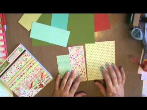 How to Mix Patterned Paper for Scrapbooking