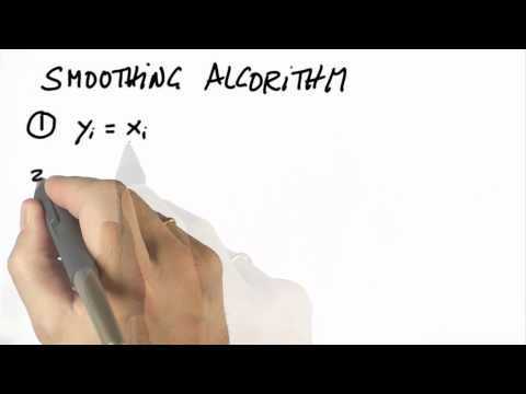 Smoothing Algorithm - CS373 Unit 5 - Udacity