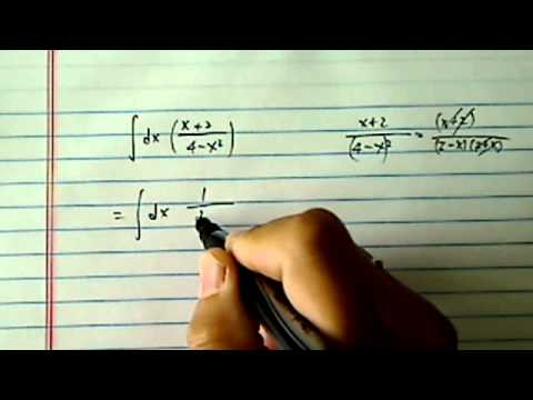 Integrate (antiderivative of): (x+2) / (sqrt(4-x^2))