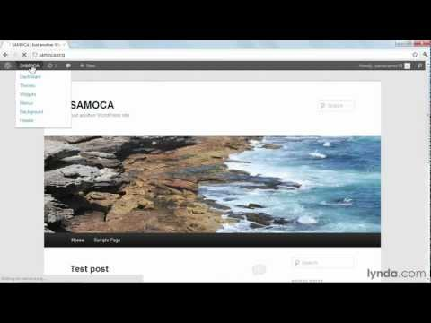 WordPress tutorial: How to edit your profile | lynda.com