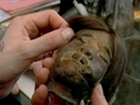 Oddities- Shrunken Human Head