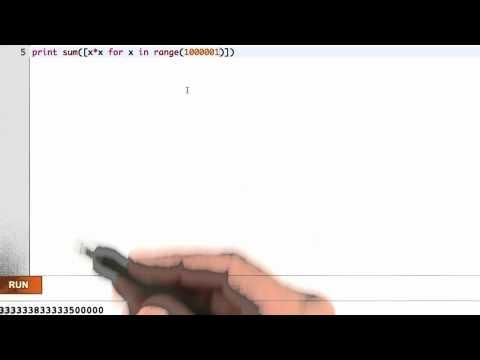 Generators 2 - Python Glossary - Udacity
