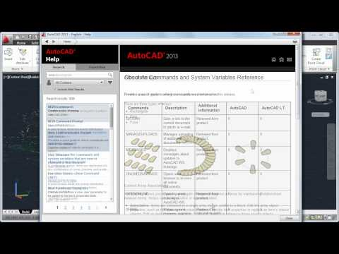 A New Approach to Help: AutoCAD 2013