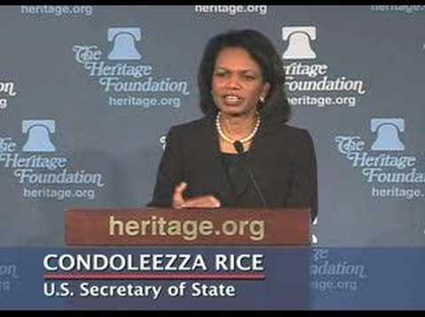 Condoleezza Rice on Winning the War on Terrorism