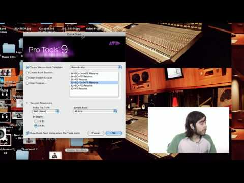Record + Mix Template - Pro Tools 9