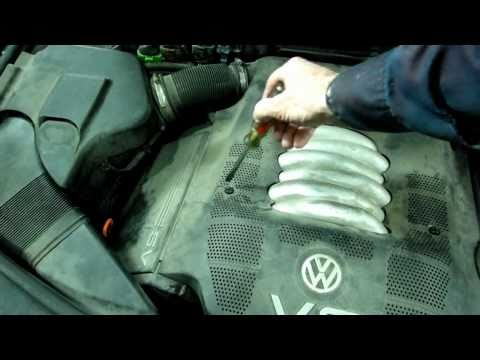 Volkswagen Coolant Temperature  Sensor Replacement